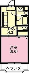 ルシエル48[207号室]の間取り