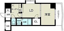 ノルデンハイム新大阪II[11階]の間取り