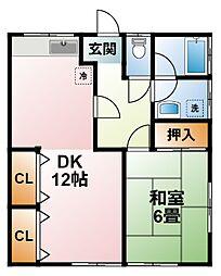 [タウンハウス] 千葉県大網白里市みどりが丘2丁目 の賃貸【/】の間取り
