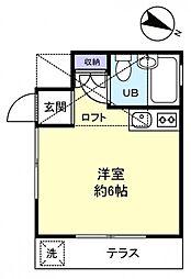 メゾンバンガード[1階]の間取り