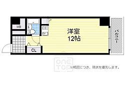 ライオンズマンション難波南第2[5階]の間取り