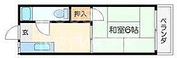碧叡荘(ヘキエイソウ)[21号室号室]の間取り