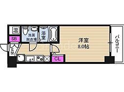 NO77 HANATEN 001[8階]の間取り