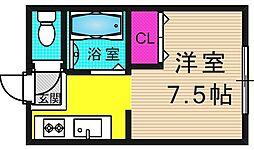 石田ビル[402号室号室]の間取り