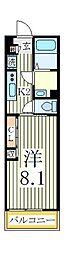 リブリ・カイオン[2階]の間取り