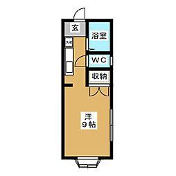 サウスウインドII[2階]の間取り