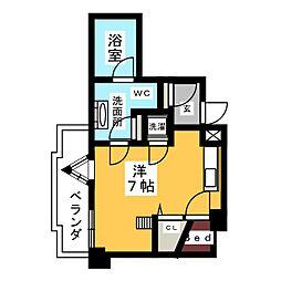 SK'BUILDING−5[2階]の間取り