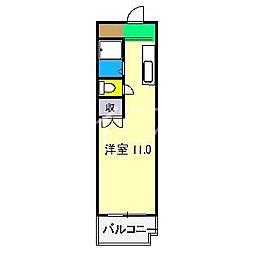 レジデンス優美24[3階]の間取り