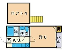 下山門駅 3.6万円