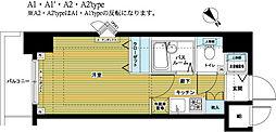 トーシンフェニックス日本橋EAST[9階]の間取り