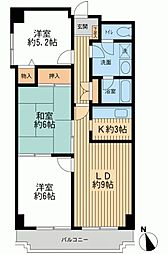 CADENZA−カデンツァ−(入間市駅最寄り)[0711号室]の間取り