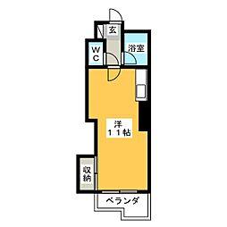 ニュー和心ハイツ[5階]の間取り
