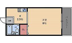 サンピアザM[4階]の間取り
