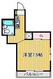 ピアオオタニ[3階]の間取り