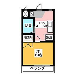 Amigo 16[1階]の間取り