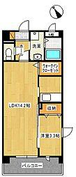 オリーブコート塚田[3階]の間取り