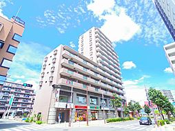 東京都東久留米市本町1丁目の賃貸マンションの外観