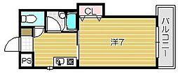 INTIMACY7[3階]の間取り