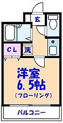フェースタワーIII[2階]の間取り