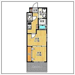 赤坂ランドマークタワー[12階]の間取り