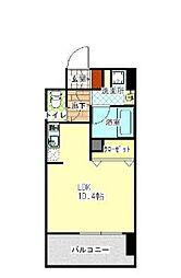 LANDIC S4173 12階ワンルームの間取り