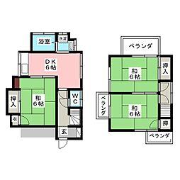 下赤塚駅 8.9万円