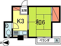 下條ビル[4階]の間取り