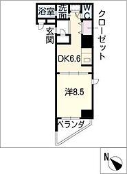 プライムアーバン泉[8階]の間取り