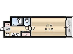フレンズハイム光栄[3階]の間取り