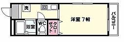 NAO三ノ瀬[4階]の間取り