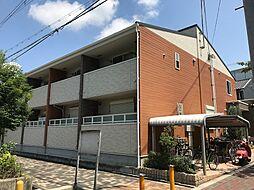 大阪府大阪市西成区南津守1丁目の賃貸アパートの外観