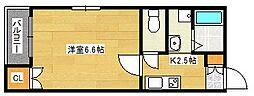 ル・シエル鶴見橋[1階]の間取り