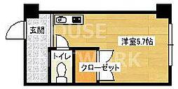 Lofty46[301号室号室]の間取り
