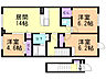 間取り,3LDK,面積70.38m2,賃料6.5万円,バス 名士バス8号下車 徒歩4分,JR宗谷本線 名寄駅 徒歩33分,北海道名寄市西十二条北4丁目12番地69