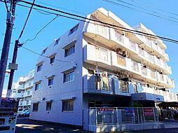 東京都清瀬市竹丘3丁目の賃貸マンションの外観