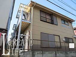 埼玉県さいたま市桜区西堀3丁目の賃貸アパートの外観