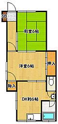 [テラスハウス] 兵庫県神戸市北区鈴蘭台南町5丁目 の賃貸【/】の間取り