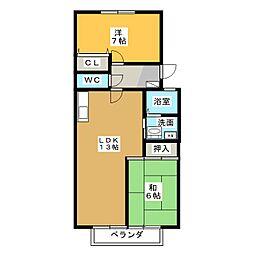 NEO GRAND CHARIOT[2階]の間取り