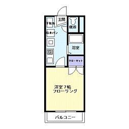 脇田町アーバンS[3階]の間取り