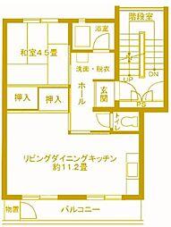 戸塚深谷 6号棟[4階]の間取り