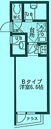 Aim 宮崎台[3階]の間取り
