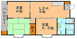第3入江ビル  東雲壱番館[1階]の間取り