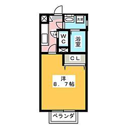 プレイス[2階]の間取り