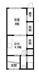柳生様平屋[1階]の間取り
