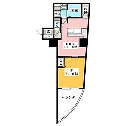 さくらHills富士見[11階]の間取り