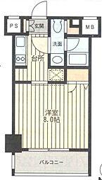 レジディア新横浜[0201号室]の間取り
