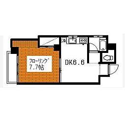 広島屋ビル[4階]の間取り