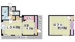 サンビルダー神戸山ノ手[402号室]の間取り
