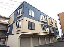 北海道札幌市東区北四十条東17丁目の賃貸アパートの外観
