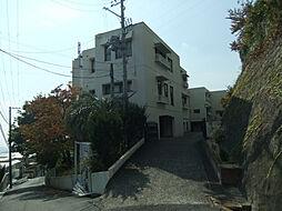 兵庫県神戸市灘区篠原台の賃貸マンションの外観